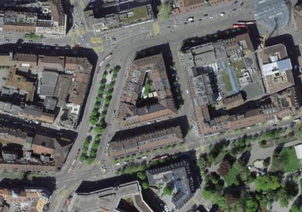 Bern, Bubenbergplatz Süd (Quelle: www.map.geo.admin.ch)