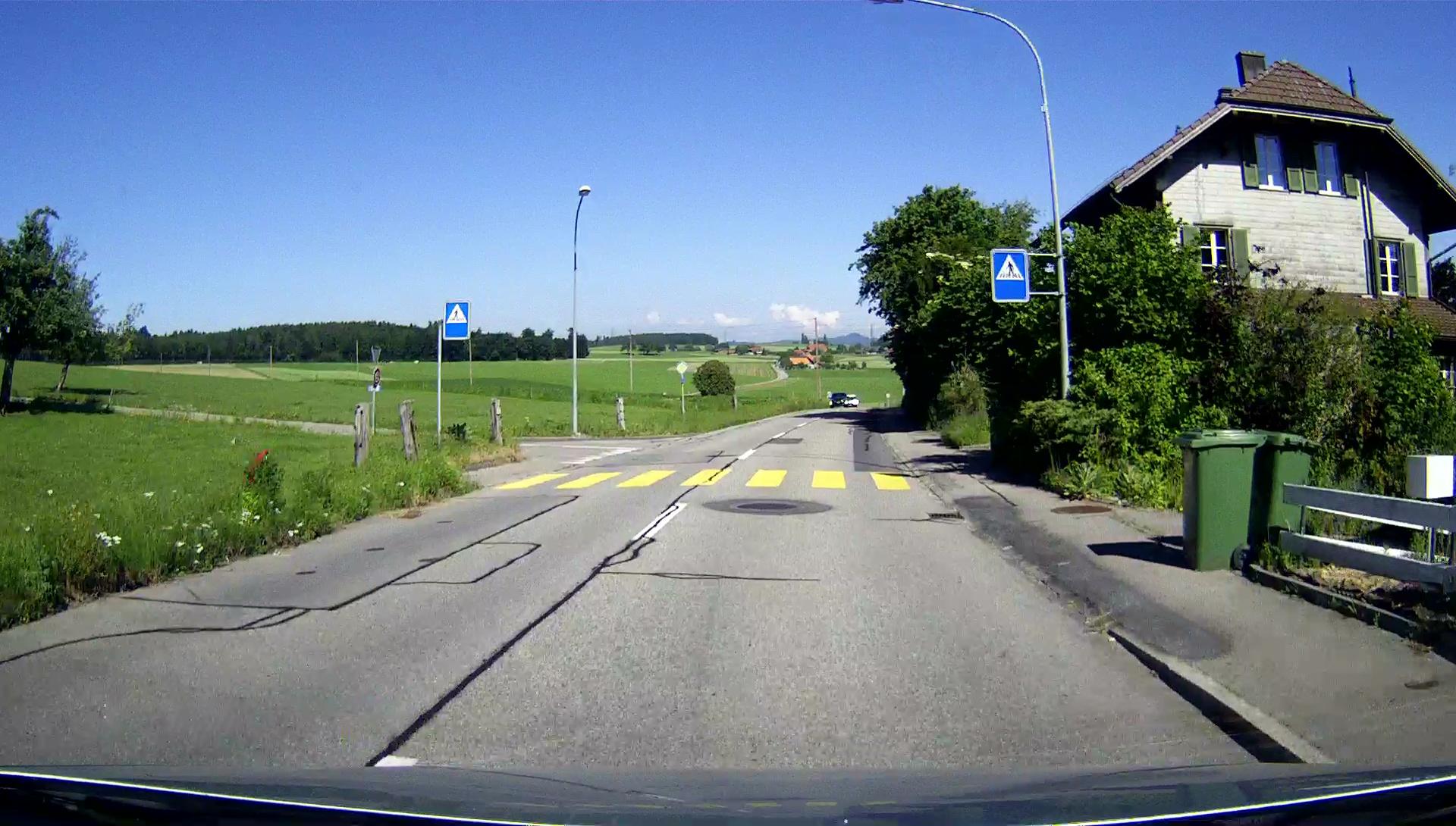 Bernstrasse, FGS an der Einmündung Schulgasse