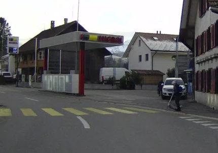 Problematischer Fussgängerstreifen in Riggisberg