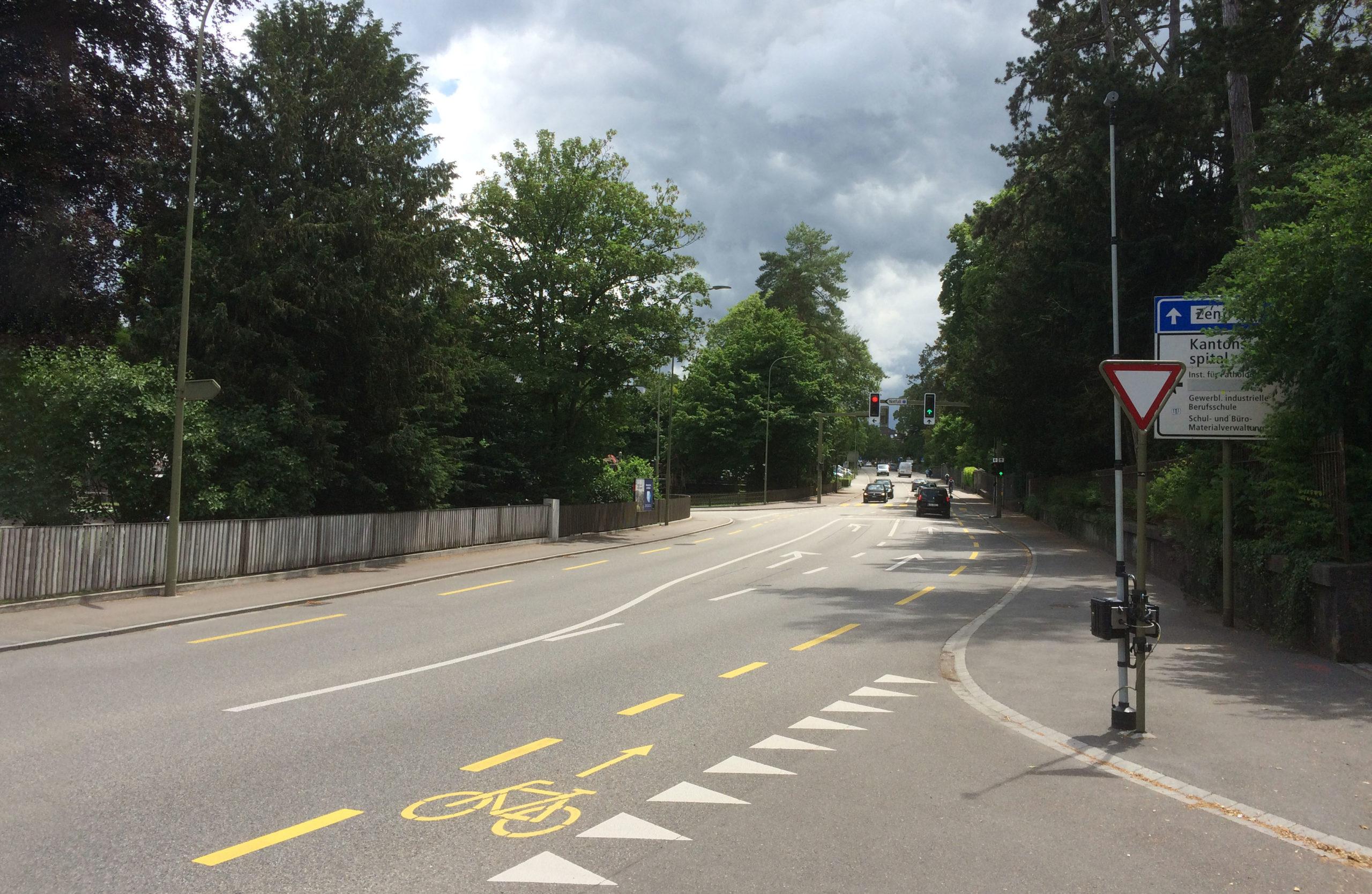 Knoten Rheinstrasse/Mühlemattstrasse