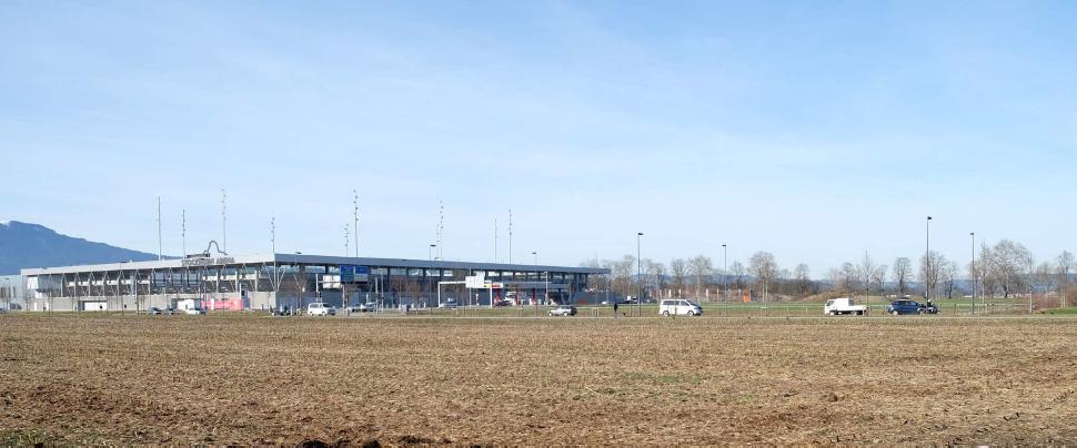 Standort bei Sportcluster (Foto: Vorprojekt/ Kocher Minder Architekten)