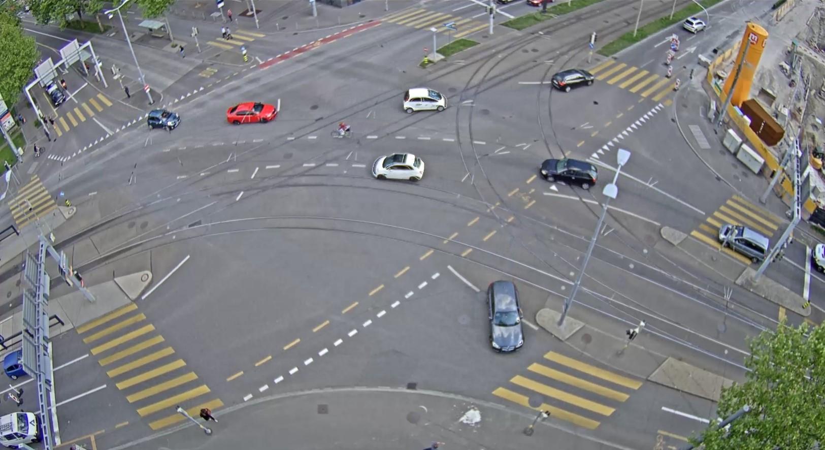 Knoten Thurgauerstrasse/Hagenholzstrasse