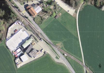 Satellitenbild der Situation